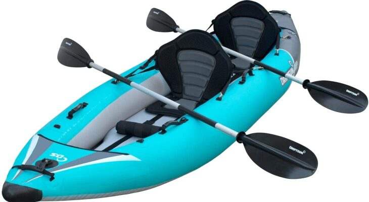 How to fish from an inflatable kayak